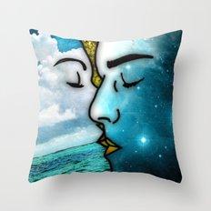 Lover's Kiss Throw Pillow