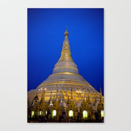 Shwedagon Pagoda, Yangoon Myanmar Canvas Print