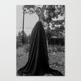dark cloth 2 Canvas Print