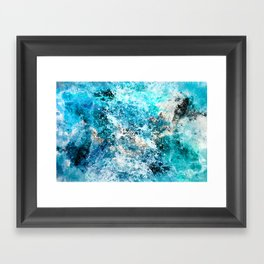 Water's Dance Framed Art Print
