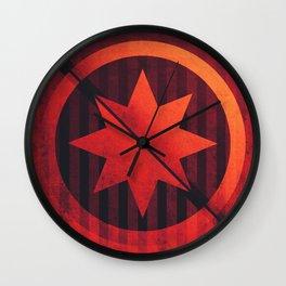 Mercury - Rameau Crater Wall Clock