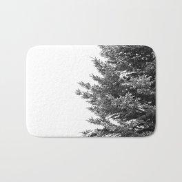 B&W Spruce Branches Bath Mat