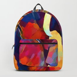Elephant Watercolor Backpack