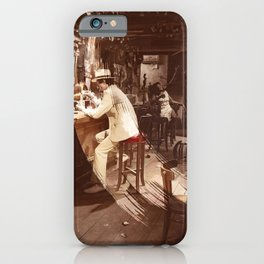 In Through the Out Door Led (Remastered) by Zeppelin iPhone Case