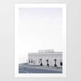 Calm Morning at the San Francisco Cliff House Kunstdrucke