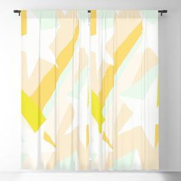 All stars in pastel Blackout Curtain