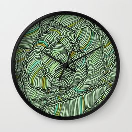 cocoons Wall Clock
