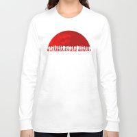 mass effect Long Sleeve T-shirts featuring Mass Effect by TxzDesign