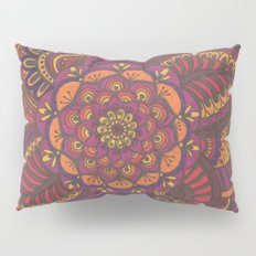Henna Style (fall colors) Pillow Sham