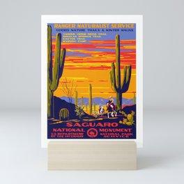 Saguaro NP Mini Art Print