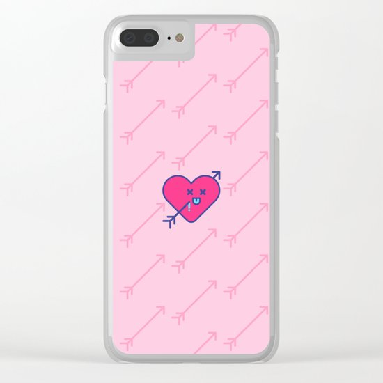 love arrows Clear iPhone Case