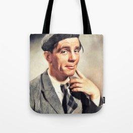 Norman Wisdom, Comedy Legend Tote Bag