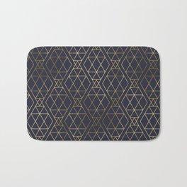Modern Art Deco Geometric 2 Bath Mat