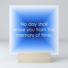 Memory of Time Mini Art Print