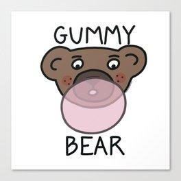 Gummy Bear Canvas Print