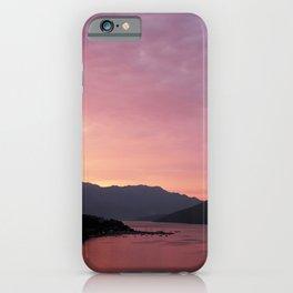 Bay of Kotor View - JUSTART (c) iPhone Case