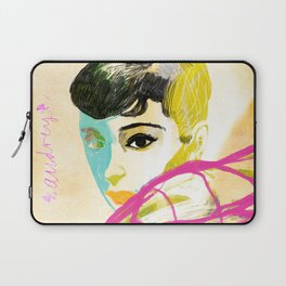 Audrey Hepburn Laptop Sleeve