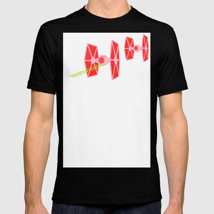 Star Wars Argyle Tie Fighter Valentine T Shirt
