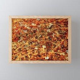Red Cilantro Framed Mini Art Print