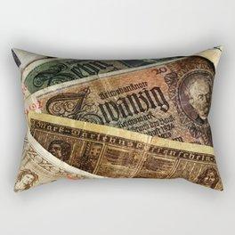 Old German money Altes Deutsches Geld Rectangular Pillow