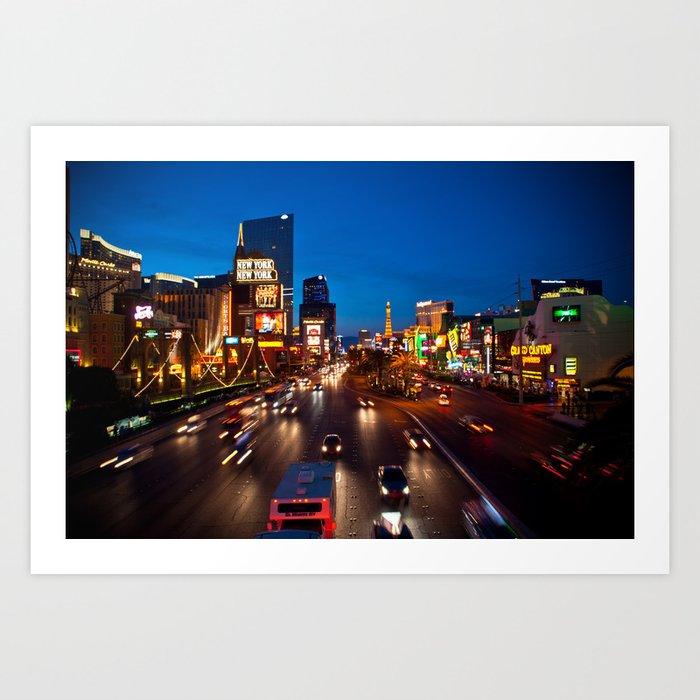 Las Vegas Strip Art Print