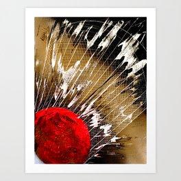 Badminton Birdie Art Print