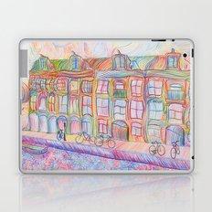 Wandering Amsterdam - Colored Pencil Laptop & iPad Skin