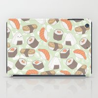 sushi iPad Cases featuring Sushi by Kvachi