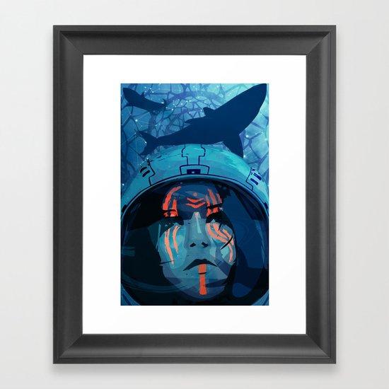 Tigerlily Framed Art Print