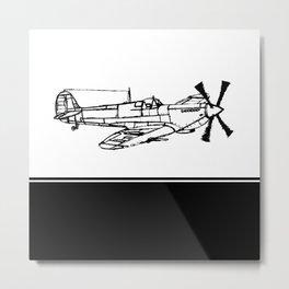 Spitfire MK IV by Ian Metal Print