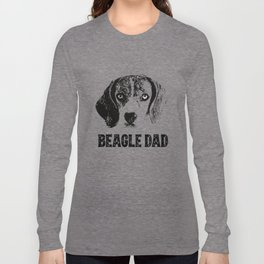 Beagle Dad Long Sleeve T-shirt