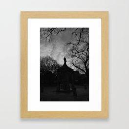 Tompkins Square Park Framed Art Print