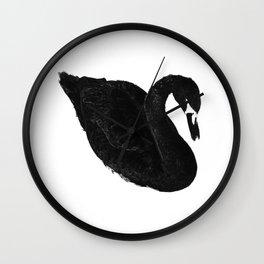 Kriegsbeginn /black logo Wall Clock
