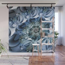 Dynamic Spiral, Abstract Fractal Art Wall Mural