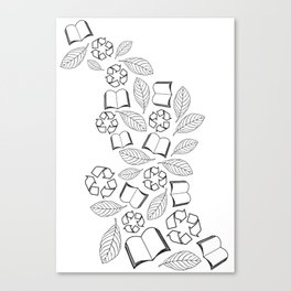 recycle reuse Canvas Print