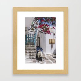 A Summer in Europe Framed Art Print