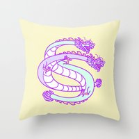 monogram Throw Pillows featuring Monogram by Come & See