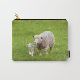 Mama Sheep and Baby Lamb Carry-All Pouch