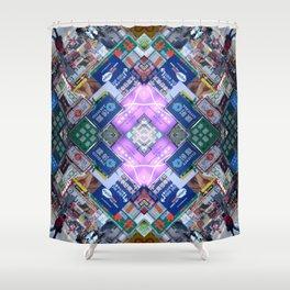Hong Kong Kaleidoscope 03 Shower Curtain