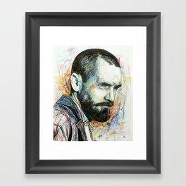 Charles Manson Framed Art Print