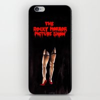 rocky horror iPhone & iPod Skins featuring RHPS by Zombie Rust