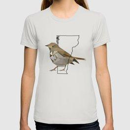 Vermont – Hermit Thrush T-shirt