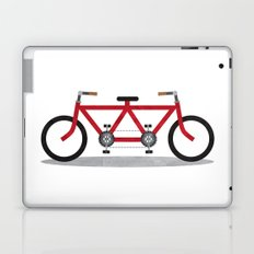 Broken Teamwork Tandem Bicycle Laptop & iPad Skin