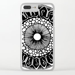 Forest Spore Clear iPhone Case