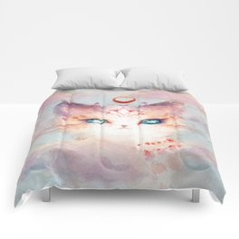 Stargazer Cat : Vision Seeker Comforters