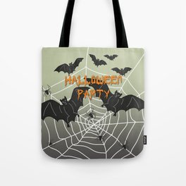 Bats- Halloween Party Tote Bag