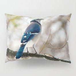 Blue Jay Calling Pillow Sham