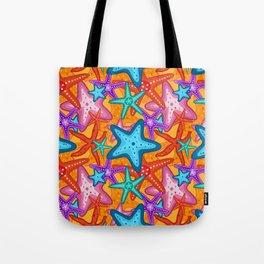 Starfish Pattern Design 2 Tote Bag