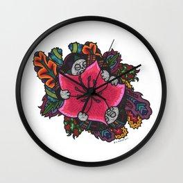 Abundance (Botanical Bliss) Wall Clock