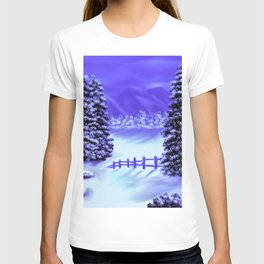 Moon Over The Mountain T-shirt
